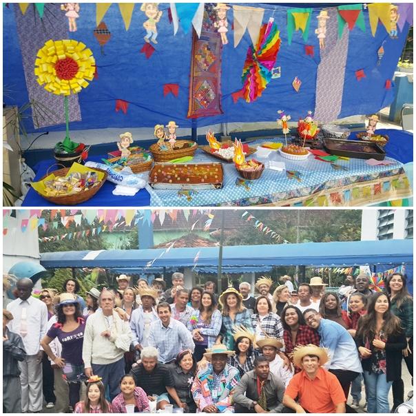 Festa JULINA juntando o ABRIGO GRÊMIO SORRISO e ABRIGO CASA DO ALTO. Mais  uma vez nosso AMOR e nossa alegria fez a festa acontecer bem animada b8c3847a3c7d9
